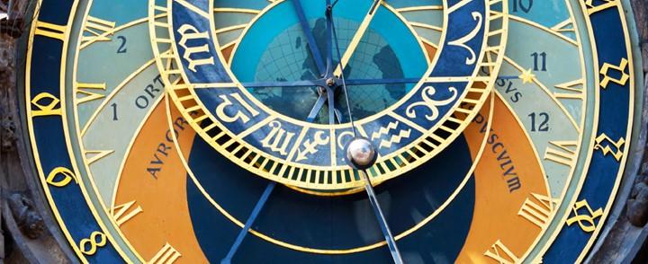 Universele klok bij cursus Astrologie
